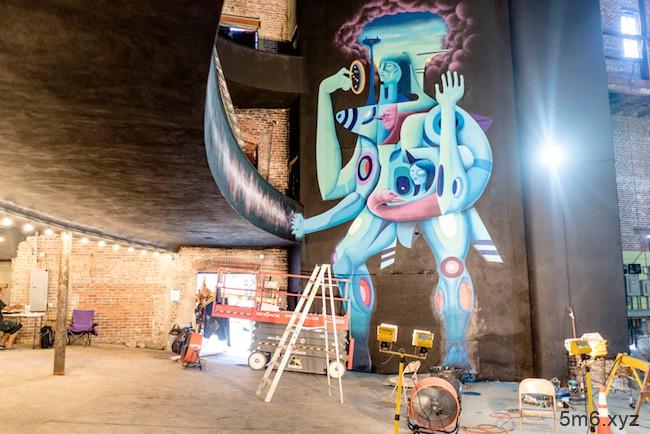 百年戏院Sparks重新装修 街头涂鸦结合时代感艺术重生