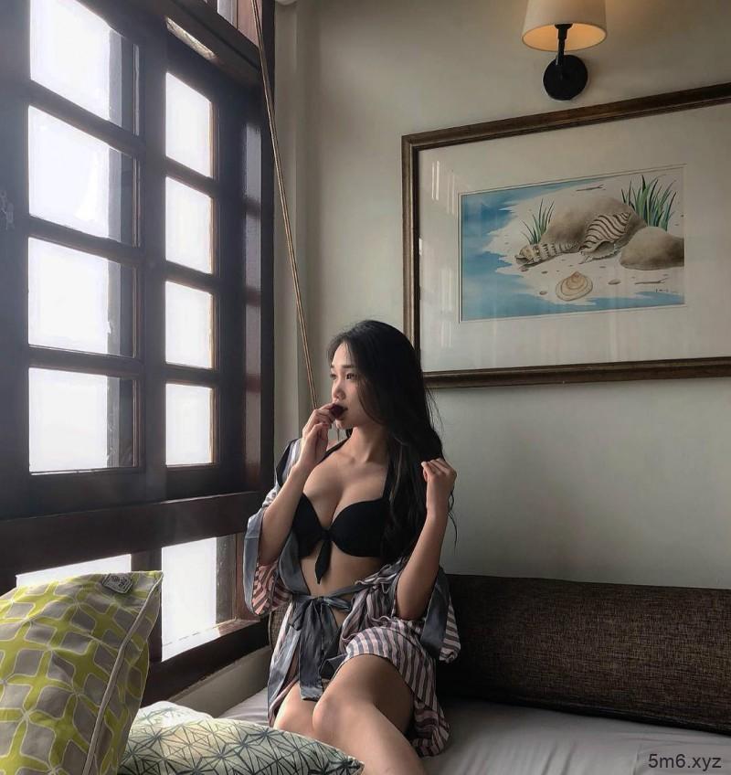 酒窝Angel Chin 性感旗袍凹凸有致S曲线火辣