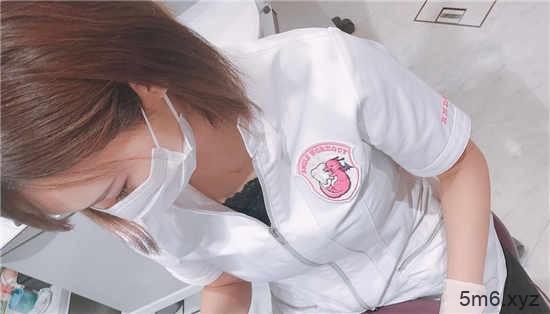 最美洁牙师西原爱夏 在诊所袒胸露乳患者看着心醉