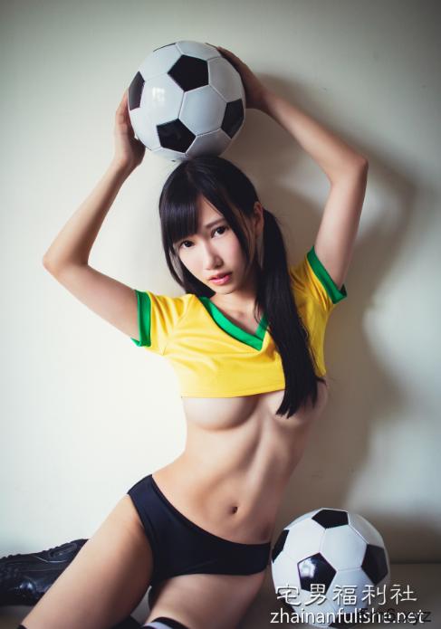 爆乳美女黄钰文 三球共赏陪你看世界杯