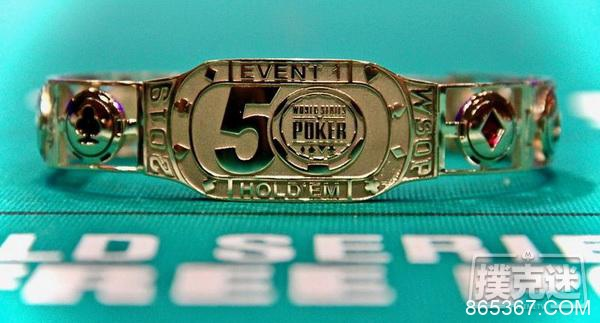 2020年WSOP金手链数量新记录:101条
