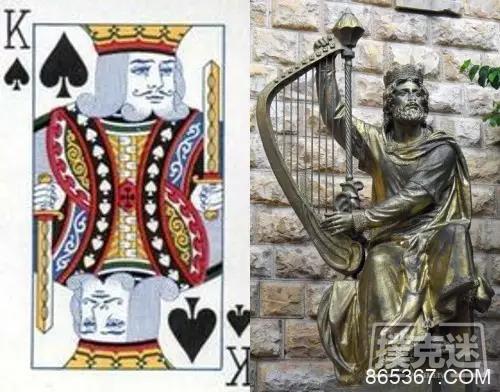 快来认识一下扑克牌头像的本尊