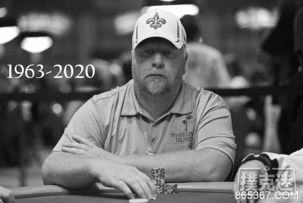 前WSOP主赛事亚军Darvin Moon去世,享年56岁