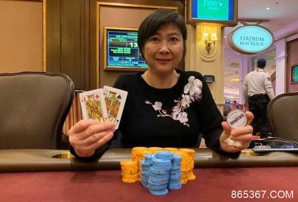资深扑克玩家Joanne