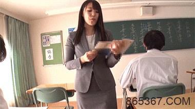 AV界的奇珍异兽!高中美女教师安奈真理恵有三个乳头!